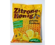 Medové bonbóny s citronovou náplní